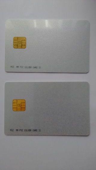 Tarjetas Silver Card 11