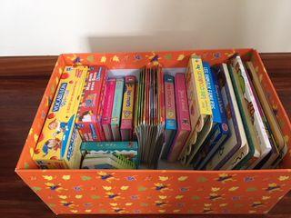 Lote libros y juegos infantiles en francés