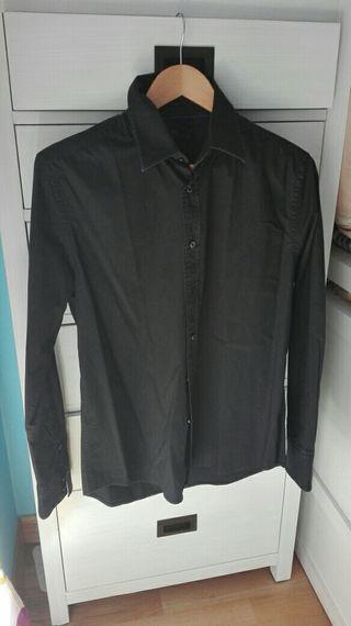 Camisa negra M