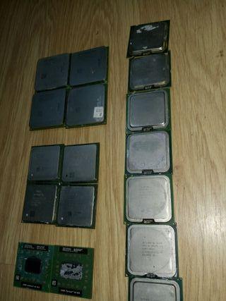 lote 17 procesadores pc ordenador procesador