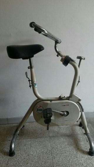 bicicleta estática retro