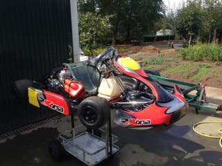 Kart KZ Rosso Corsa 2014 con KZ10