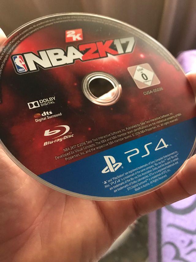 Juego NBA 2k17 ps4