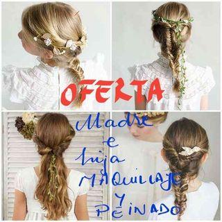 OFERTA COMUNIÓN!!! Maquillaje y peinado!