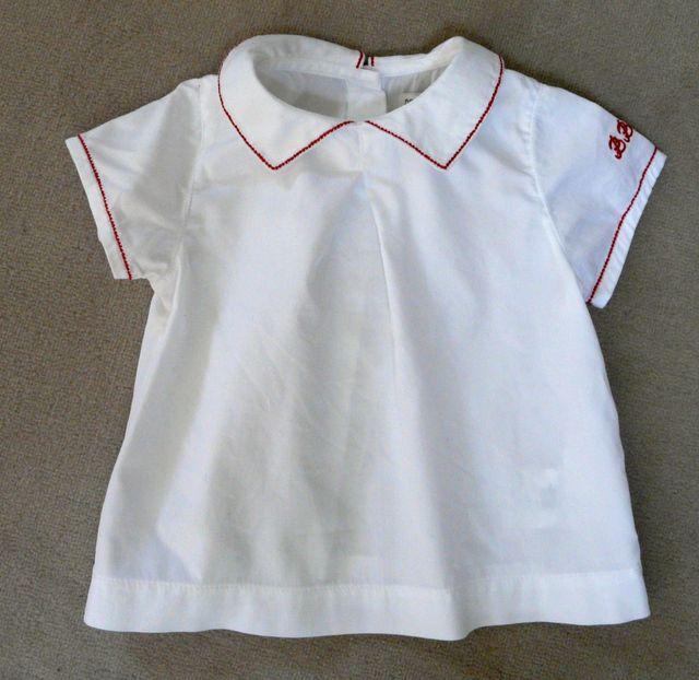 Blouse DPAM bébé- 6 mois - 100% coton