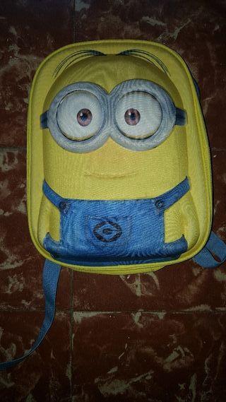 mochila de niño miñons