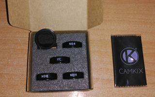 Filtros ND densidad neutra GoPro 3+ y 4 Go pro