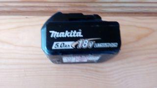 Bateria taladro MAKITA 18V 5ah.
