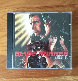 """CD """"BLADE RUNNER"""" Vangelis"""