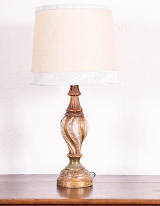 Lámpara De Sobremesa Policromada