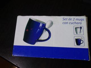 Juego 2 tazas
