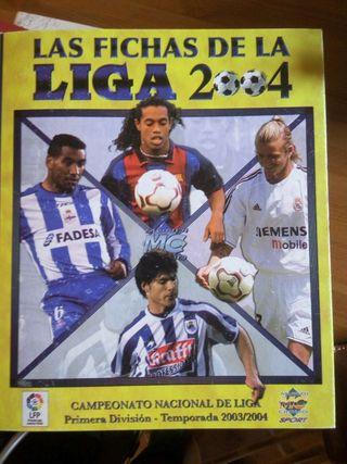 Cromos de futbol 2004