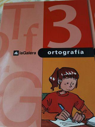 cuadernos verano ortografía