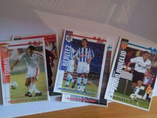 200 cromos de futbol liga 2002-03