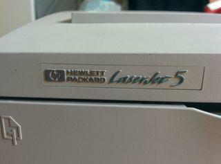 impresora hp láserjet 5