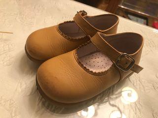Zapatos niña n 22 JEROMIN piel