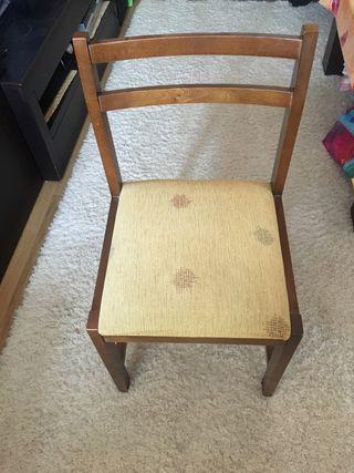 Conjunto de 4 sillas