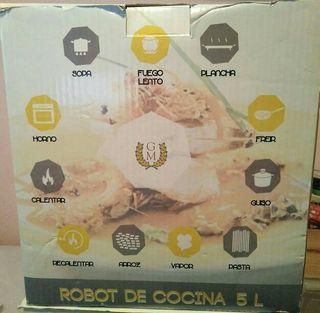 robot cocina modelo alfa 5l cecotec