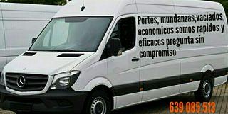 Servicios transporte, mudanzas,vaciados..639085513
