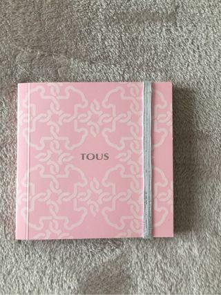 Cuaderno TOUS