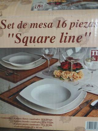 2 Sets de mesa