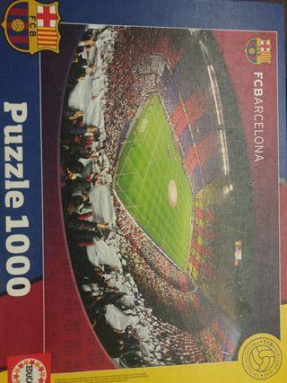 Puzzle 1000 piezas F.C.Barcelona