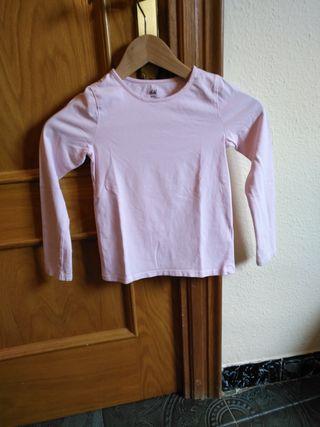 camiseta niña hm