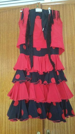 falda de flamenca