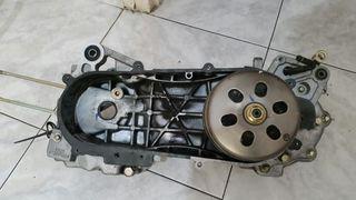 Remato repuestos de moto Agility Kimco 125 baja.