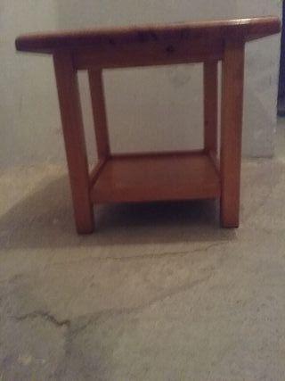 Mesa madera maziza, alto 45 . 50x50