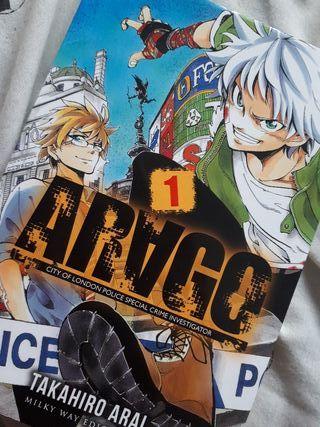 """Manga/Cómic japonés """"Arago"""""""