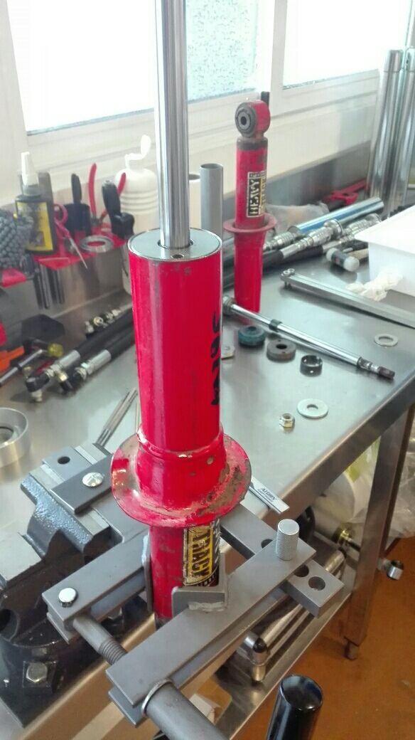 Reparación de amortiguadores Koni Heavy Track