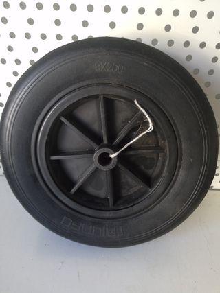 rueda motoazada