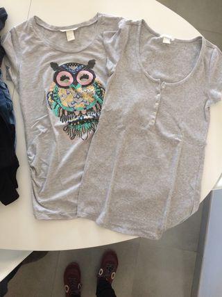Dos camisetas premamá