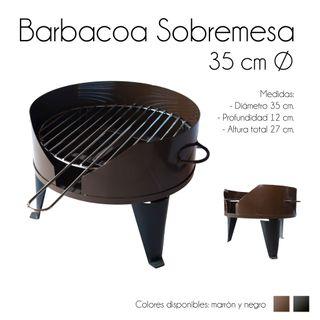 Usado, Barbacoas sobremesa marron segunda mano  España