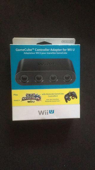 Adaptador oficial WiiU para mandos Gamecube