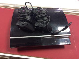 Ps3 Sony ,con dos mandos