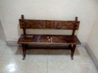 Banco de madera