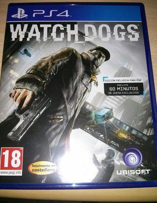 Oferta de la semana, Watchdogs 1 de ps4