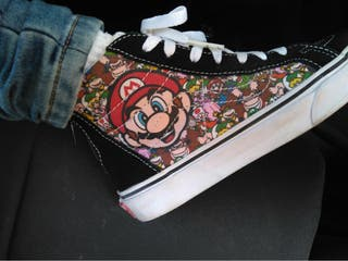 Zapatillas Vans de Super Mario Bros