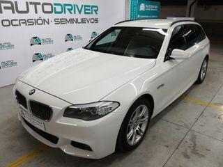 BMW 535 d Touring 313cv F11, pack M, libro, 2012