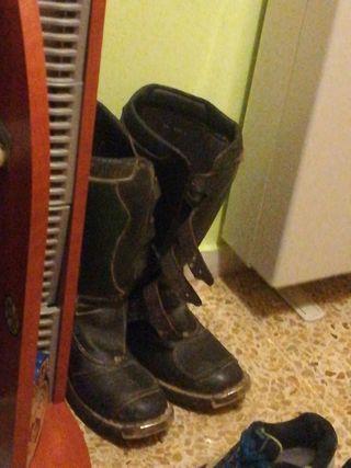 botas de cross