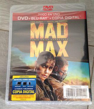 MAD MAX Furia en la Carretera en DVD y BLURAY