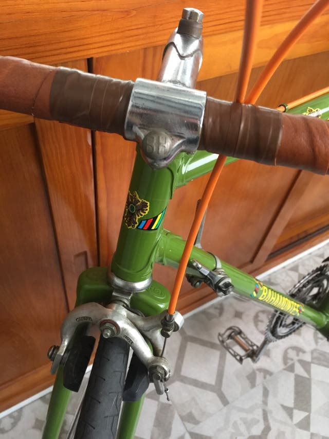 Bicicleta fixie retro original