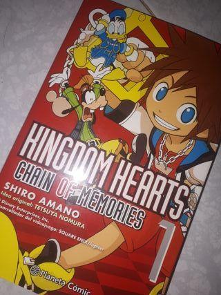"Manga/Cómic japonés ""Kingdom Hearts"""