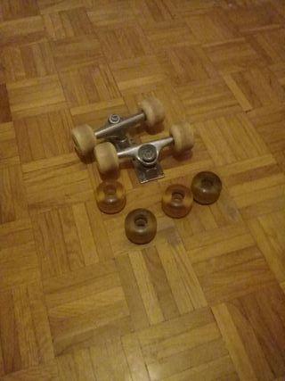 ruedas monopatin