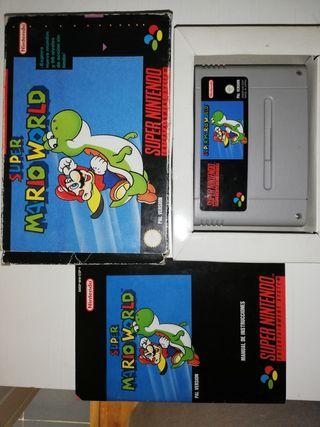 Juego Super Mario World