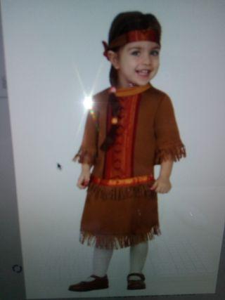 Disfraz India bebé