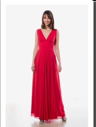 Vestidos rojos de fiesta de marca