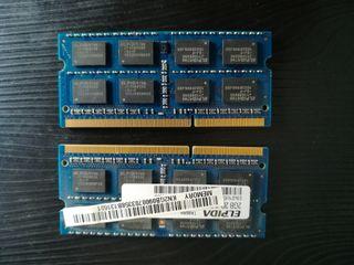 memorias ram portatil 2gb (4g)